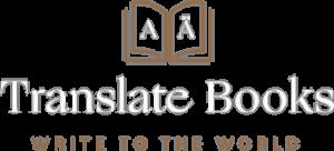 Translate books from English to German light logo